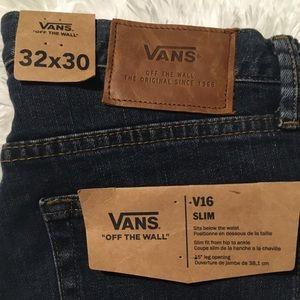 NWTS VANS Jeans V16 slim size 32x30